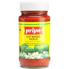 Cut Mango Pickle - Priya 300g