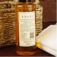 Khadi / Massage Oil with Sandal, Olive, Almond 210 ml Массажное масло